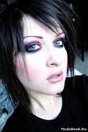 Как сделать макияж эмо в картинках